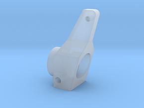 RC10 REAR HUB, 0 DEG in Smooth Fine Detail Plastic