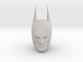 Batman Head in Natural Full Color Sandstone