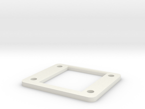 D216_shock_tower_spacer_sh_2mm in White Natural Versatile Plastic