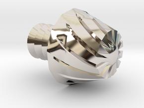 Nerf Elite Micro Dart Rifled Replacement Tip in Platinum