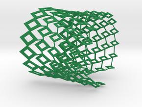 Conifère Cuff in Green Processed Versatile Plastic