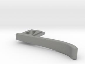Fuji x100F Thumb Grip in Gray Professional Plastic