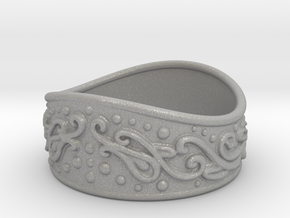 Knight bracelet in Aluminum: Large