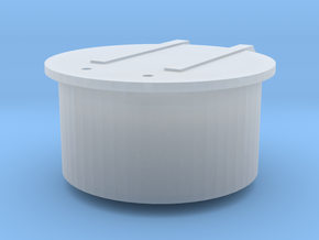119 tender filler cover in Smooth Fine Detail Plastic