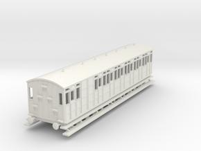 o-100-metropolitan-8w-long-brake-coach in White Natural Versatile Plastic