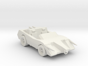 Deathrace 2000 The Bull 160 scale in White Natural Versatile Plastic