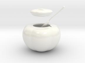 Sugar Bowl (downloadable) in Glossy Full Color Sandstone