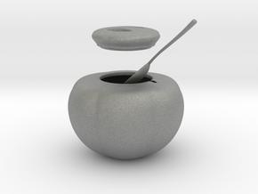 Sugar Bowl (downloadable) in Gray PA12