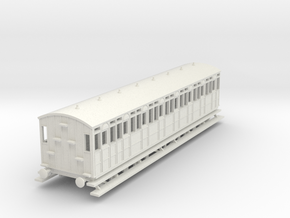 o-120-metropolitan-8w-short-brake-coach in White Natural Versatile Plastic