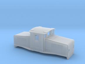 Swedish SJ accumulator locomotive type Öb - N-scal in Smooth Fine Detail Plastic