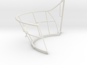 1/6 uboot VIIC Conning TowerWintergarten Part1 in White Natural Versatile Plastic
