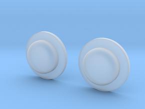 Sportello Billet Box Rev4 Button v2.0 Variante 1 in Smoothest Fine Detail Plastic