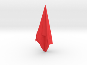Tholian Assembly - Starship in Red Processed Versatile Plastic
