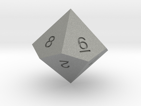 ENUMERATED PENTAGONAL TRAPEZOHEDRON in Gray Professional Plastic