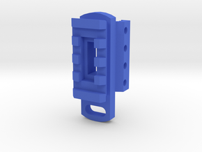 TeleScopix Sling Mount Adapter in Blue Processed Versatile Plastic
