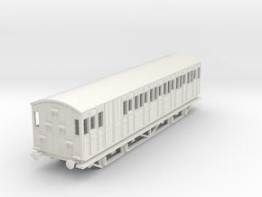 o-100-metropolitan-8w-long-brake-coach-mod in White Natural Versatile Plastic
