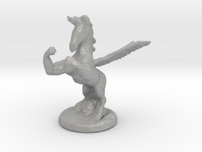 Wada Fu The Flying Fighting Unicorn™ in Aluminum: Small
