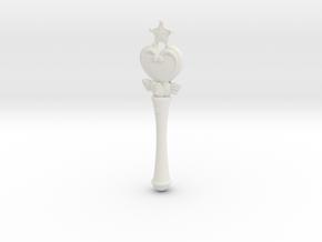 Pink Sugar Rod 4.5cm in White Natural Versatile Plastic