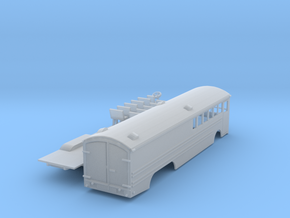 Great Northern Bus N scale in Smooth Fine Detail Plastic
