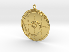 Mathematics Symbol  in Polished Brass