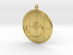 Mathematics Symbol  in Polished Brass