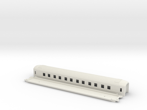 WLABo6 - Swedish passenger wagon in White Natural Versatile Plastic