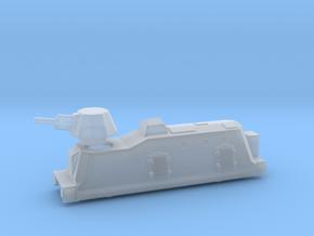 Panzerzüge artileriewagon armored train ho in Smooth Fine Detail Plastic
