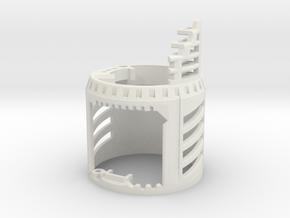 Graflex Master - Part 2 - Shell1 in White Premium Versatile Plastic