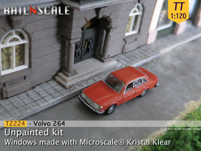 Volvo 264 GL (TT 1:120) in Smooth Fine Detail Plastic
