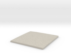 Model of Trabancas in Natural Sandstone