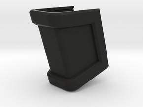 Glock 21 Magazine Grip - Medium in Black Natural Versatile Plastic