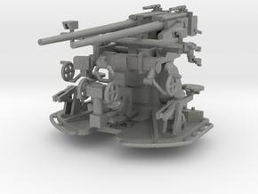 37 mm Flak C/30 auf Zwillingslaffette scale 1:100 in Gray Professional Plastic