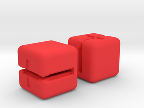 FATE Dice Card Holders in Red Processed Versatile Plastic