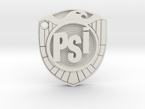 psi judge badge in White Premium Versatile Plastic