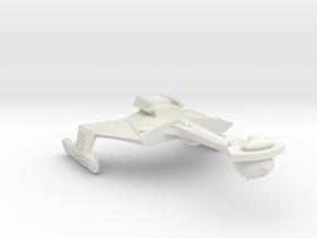 3788 Scale Romulan KCR Heavy Battlecruiser, Smooth in White Natural Versatile Plastic
