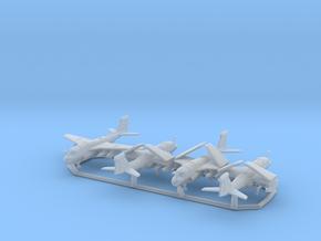EA-6B w/gear x4 (FUD) in Smooth Fine Detail Plastic: 1:350