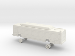 HO Scale Bus NABI 40-LFW Foothill F1400s F1500s in White Natural Versatile Plastic
