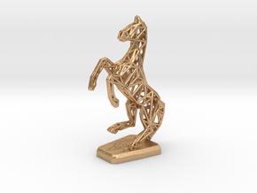 Horse in Natural Bronze