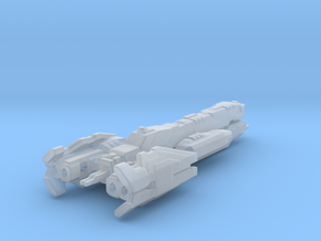 UNSC Nevada Light cruiser 3cm version in Smooth Fine Detail Plastic