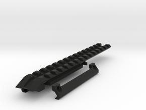 Deagle 20mm Rail v3 in Black Natural Versatile Plastic