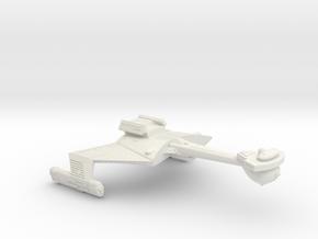 3788 Scale Romulan KCR Heavy Battlecruiser WEM in White Natural Versatile Plastic