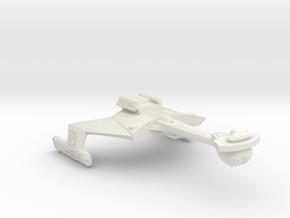 3125 Scale Romulan KCR Heavy Battlecruiser WEM in White Natural Versatile Plastic
