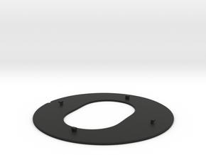 Fostex Denon Eikon pad/attenuation ring. in Black Natural Versatile Plastic