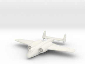 "(1:144) Junkers ""Unnamed"" Ground Attack Aircraft in White Natural Versatile Plastic"