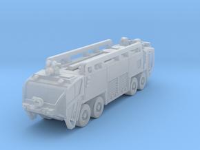 OK Strikr 8x8 ARFF fire truck rev2 in Smoothest Fine Detail Plastic: 6mm