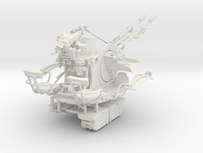 1/16 ZU-23-2 AA Gun Set002 in White Natural Versatile Plastic