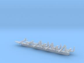 Seafire FR47 w/Gear x8 (FUD) in Smooth Fine Detail Plastic: 1:600
