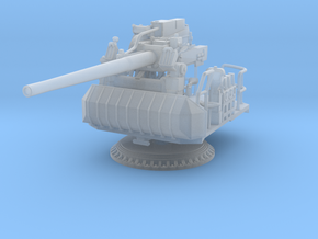 1/87 USN Single 5 inch (127 mm) 38 caliber gun in Smooth Fine Detail Plastic