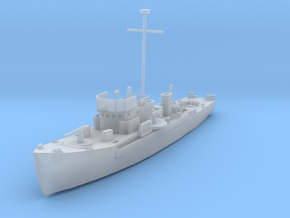 1/600 Scale YMS 1-134 Class Minesweeper in Smooth Fine Detail Plastic
