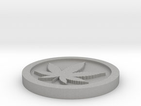 Weed/Marijuana Themed Coin/Token For Checkers, Pok in Aluminum